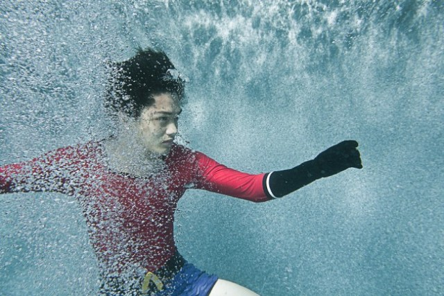 Aqualad cosplay photographed by ImMuze