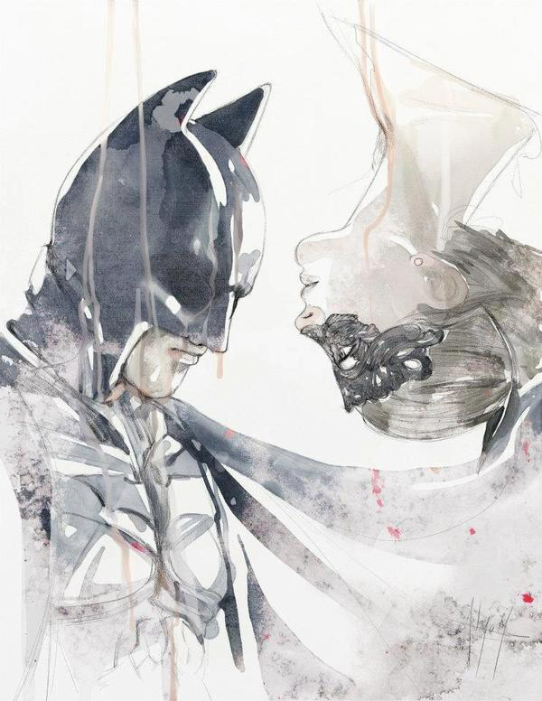 Batman and Catwoman by Anthony Taysub