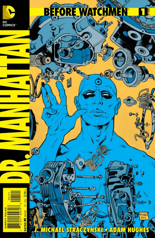 Before Watchmen - Doctor Manhattan #1 cover by Paul Pope
