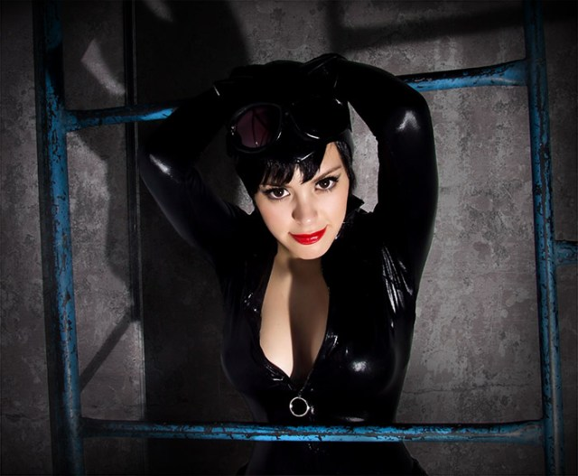 Catwoman, cosplayed by Nadya Sonika