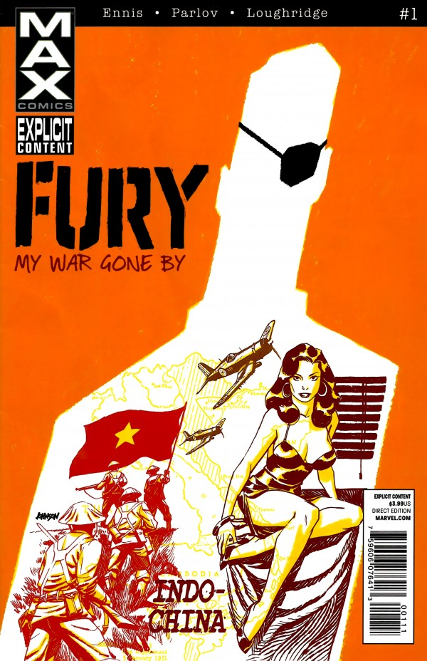 Fury Max #1 cover by Dave Johnson