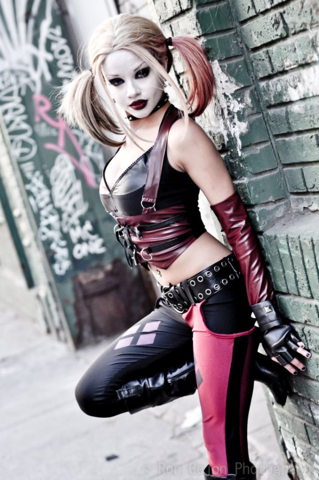 Harley Quinn cosplayed by Kitty Young