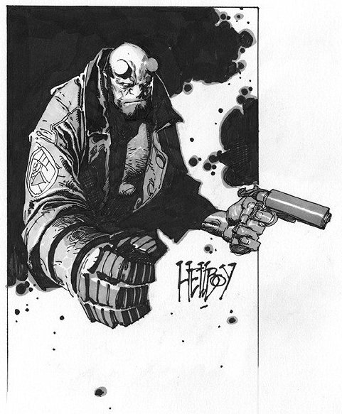 Hellboy by Travis Charest