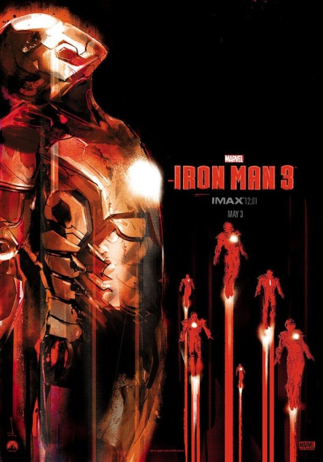 Iron Man 3 poster 1 by Jock