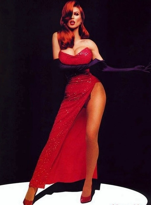 Jessica Rabbit cosplay 2 photographed by  Ryan Anastamendi