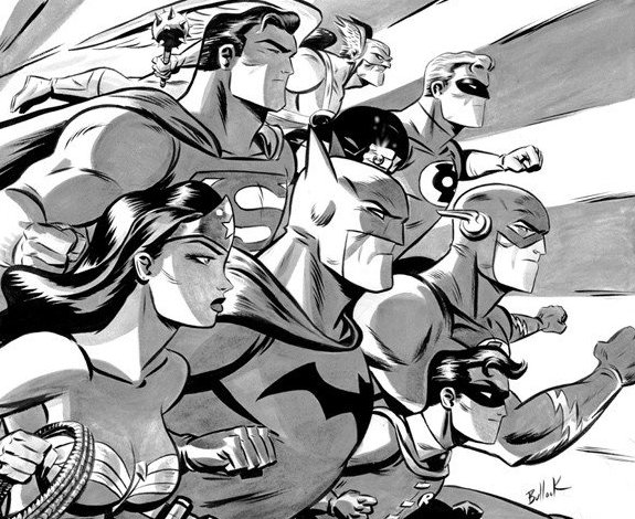 Justice league by Dave Bullock