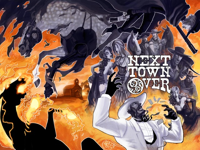 Next Town Over Cover
