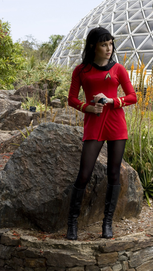Star Trek Red Shirt cosplay