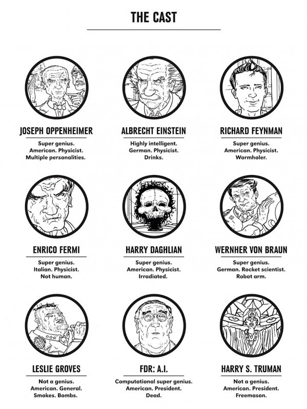 The Manhattan Projects Cast