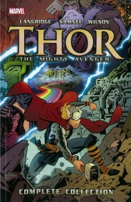 Thor the mighty avenger cover
