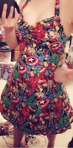My Marvel Comic Dress