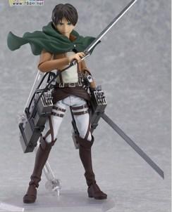 Cool-15cm-6-Attack-on-Titan-Shingeki-no-Kyojin-Scouting-Legion-Levi-Boxed-PVC-Action-Figure