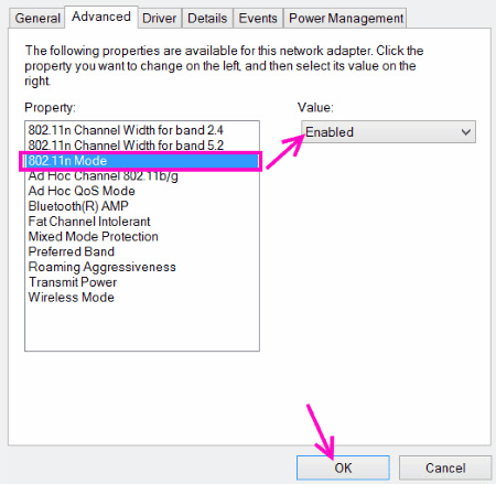 802.11n Enable 5ghz Wifi Not Showing Up Windows 10