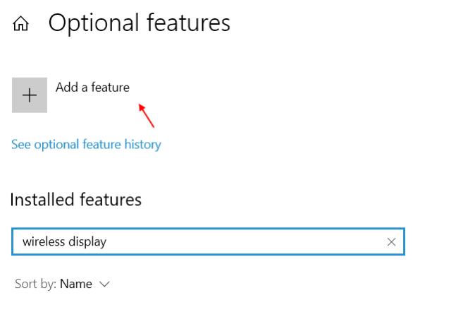 Add Wireless Display Min