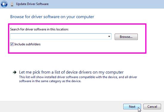 Browse Driver Fix Nvidia Installer Cannot Continue Error Windows 10