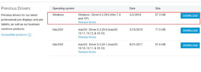 Wacom Previous Driver Wacom Pen Not Working Windows 10
