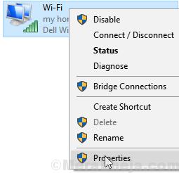Properties Wifi