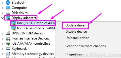 Update Driver Graphics Display Card