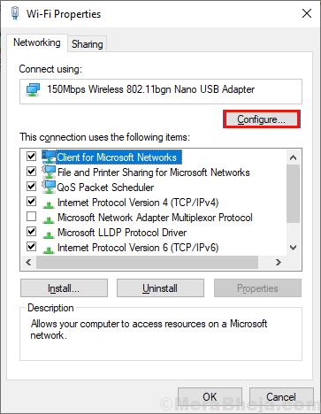 Wifi Configure