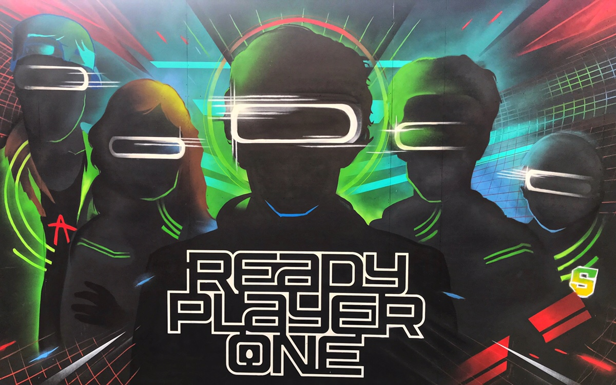 Ready Player One Challenge in Hollywood