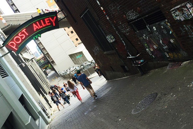 Seattle - Post Alley