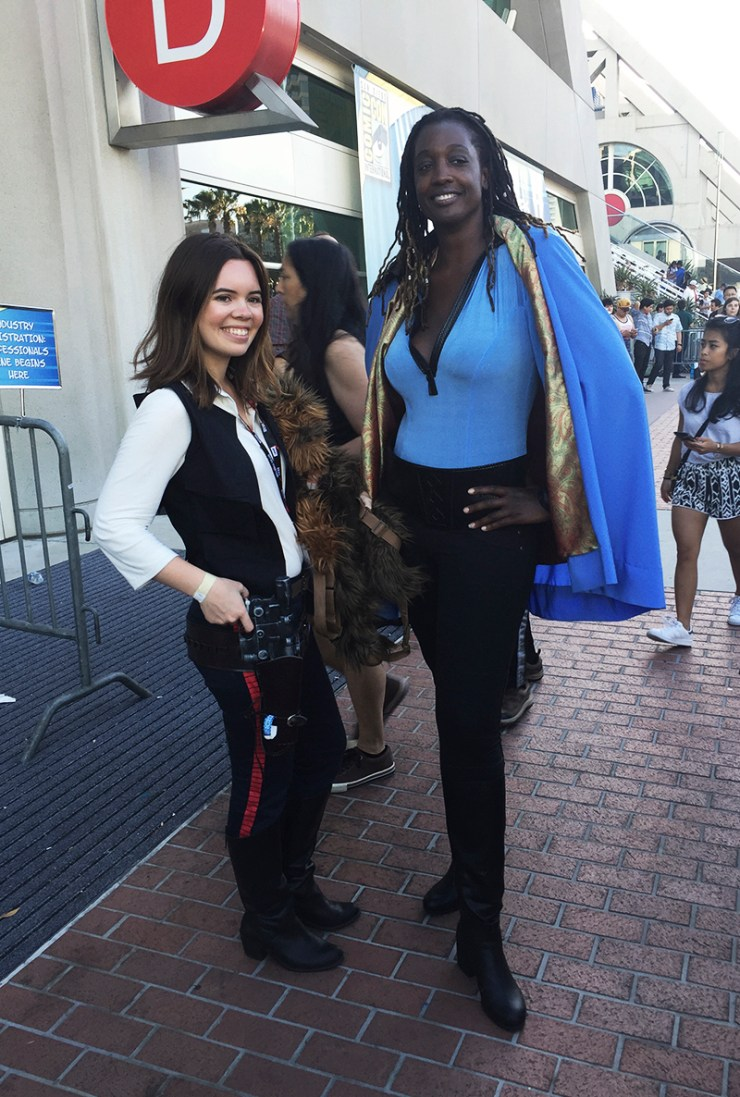 SDCC Female Han Solo Cosplay