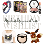 My 27th Birthday Wishlist