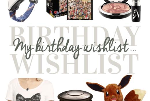 Nerdy Birthday Wishlist