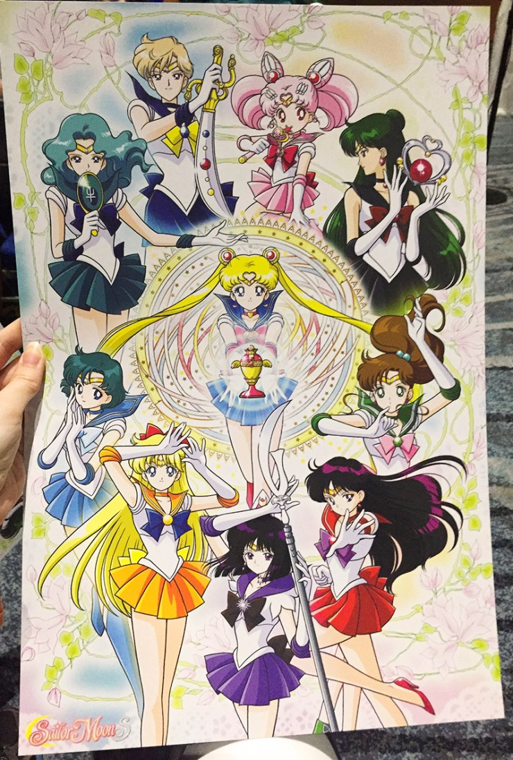Comic Con Sailor Moon Poster