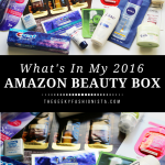 Amazon Beauty Box Unboxing