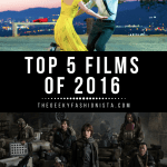 My Top 5 Favorite Films of 2016