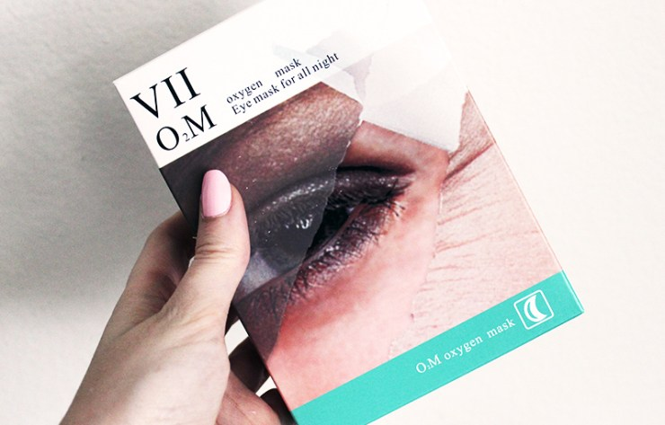 VII Code Oxygen Eye Mask // The Geeky Fashionista