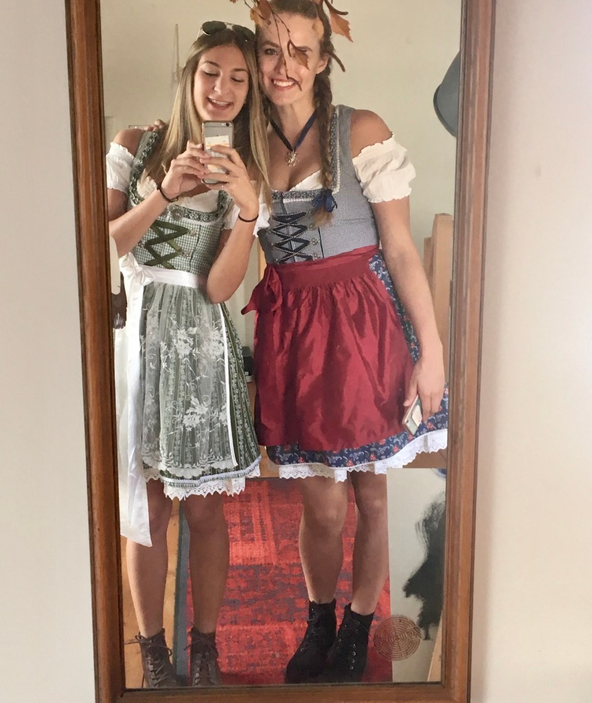 Tricks dirndl push up The Sewing