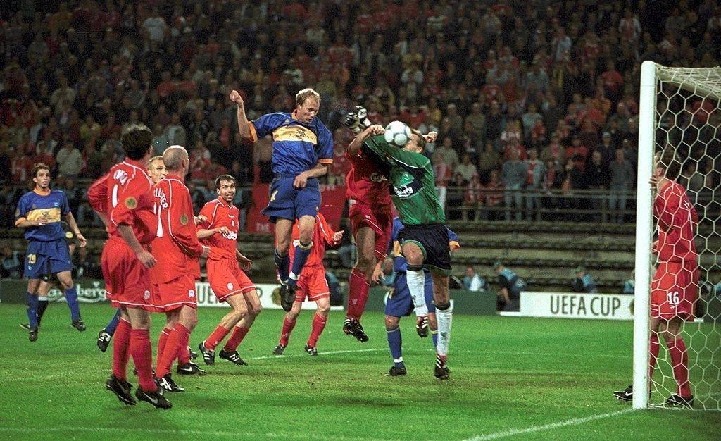 Gol di testa di Jordi Cruijff