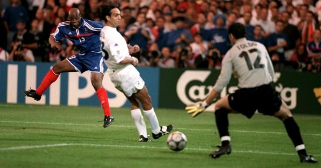 Europeo 2000: Gol di Wiltord