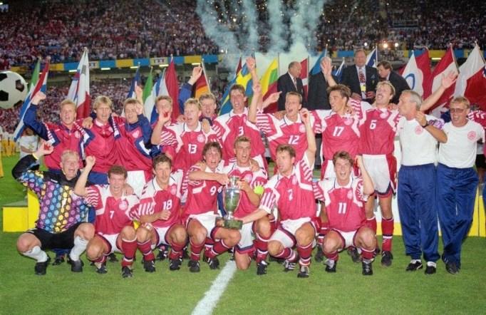 La Danimarca festeggia la storica vittoria europea