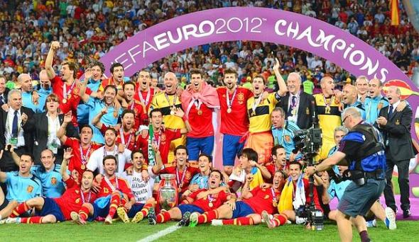 La Spagna è campione di Euro 2012