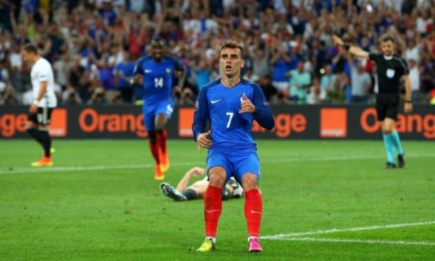 Griezmann ad Euro 2016