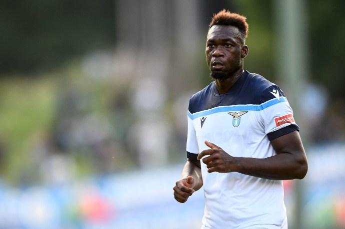 Caicedo con la Lazio