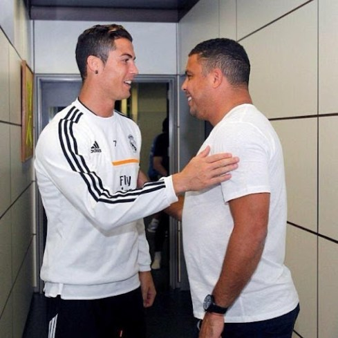 Cristiano Ronaldo e Ronaldo