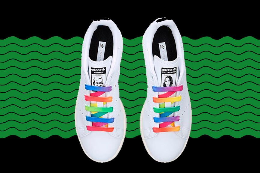 zapatillas de Stella Mc Cartney por Lala Bruzoni