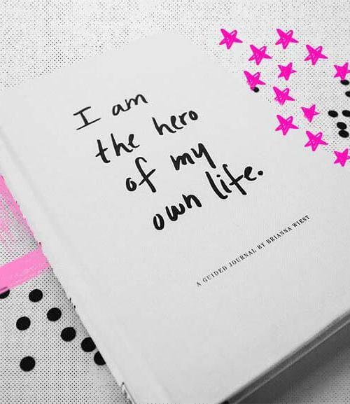 Libro i am the hero of my own life de Brianna Wiest