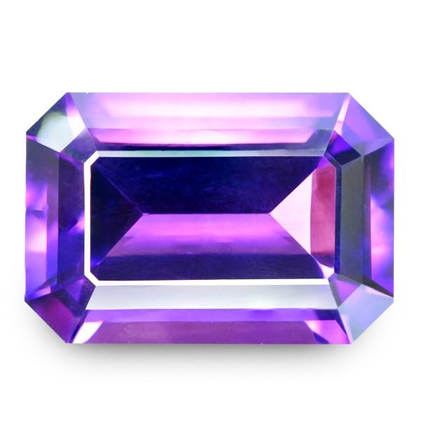 Natural Gemstone, Jewellery, Jewelry, Quartz, Purple, Amethyst, Uruguay, Rectangle, Emerald, The Gem Monarchy, Gem Monarchy, TheGemMonarchy, GemMonarchy, Monarchy, The Gemstone Monarchy, Gems