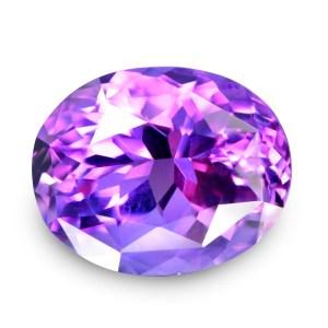 Natural Gemstone, Jewellery, Jewelry, Quartz, Purple, Amethyst, Uruguay, Oval, Flower