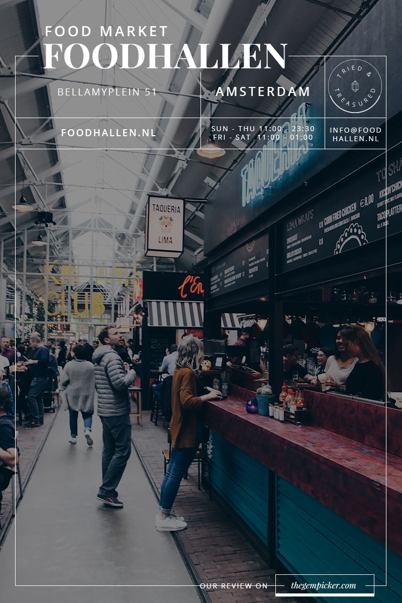 Amsterdam Foodhallen, the best place for foodies