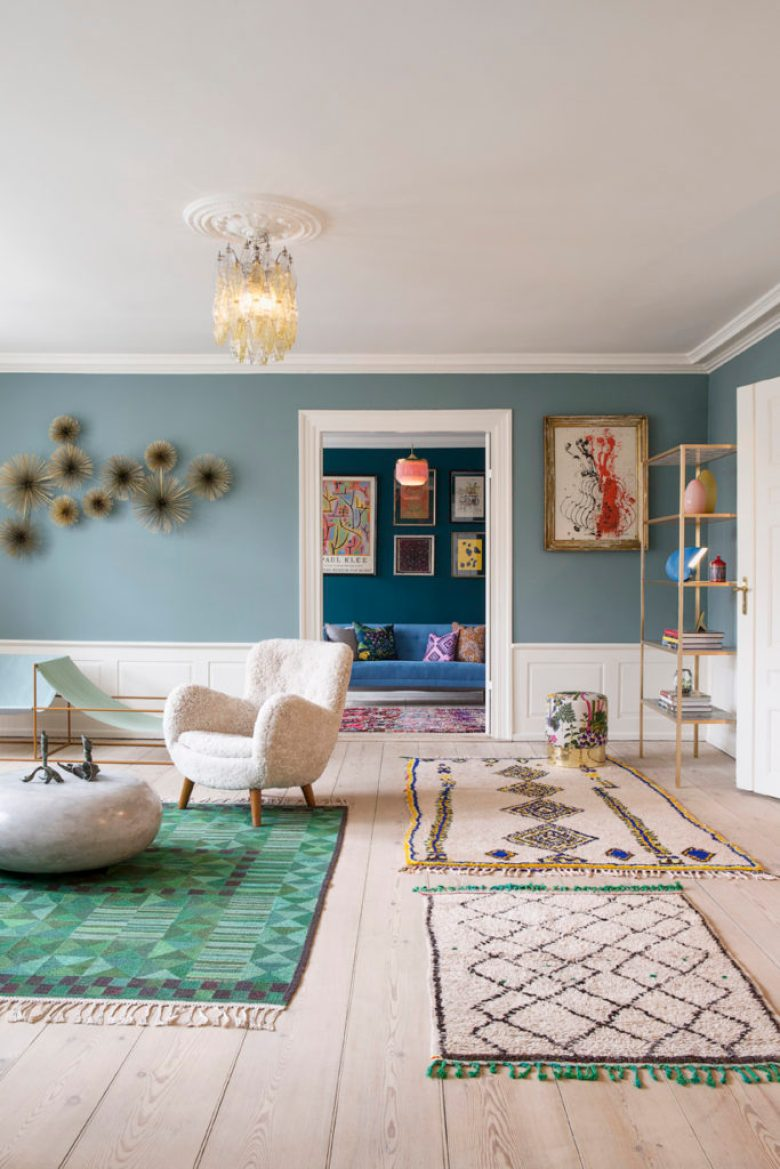A shoppable Copenhagen Apartment with all the best vintage design pieces