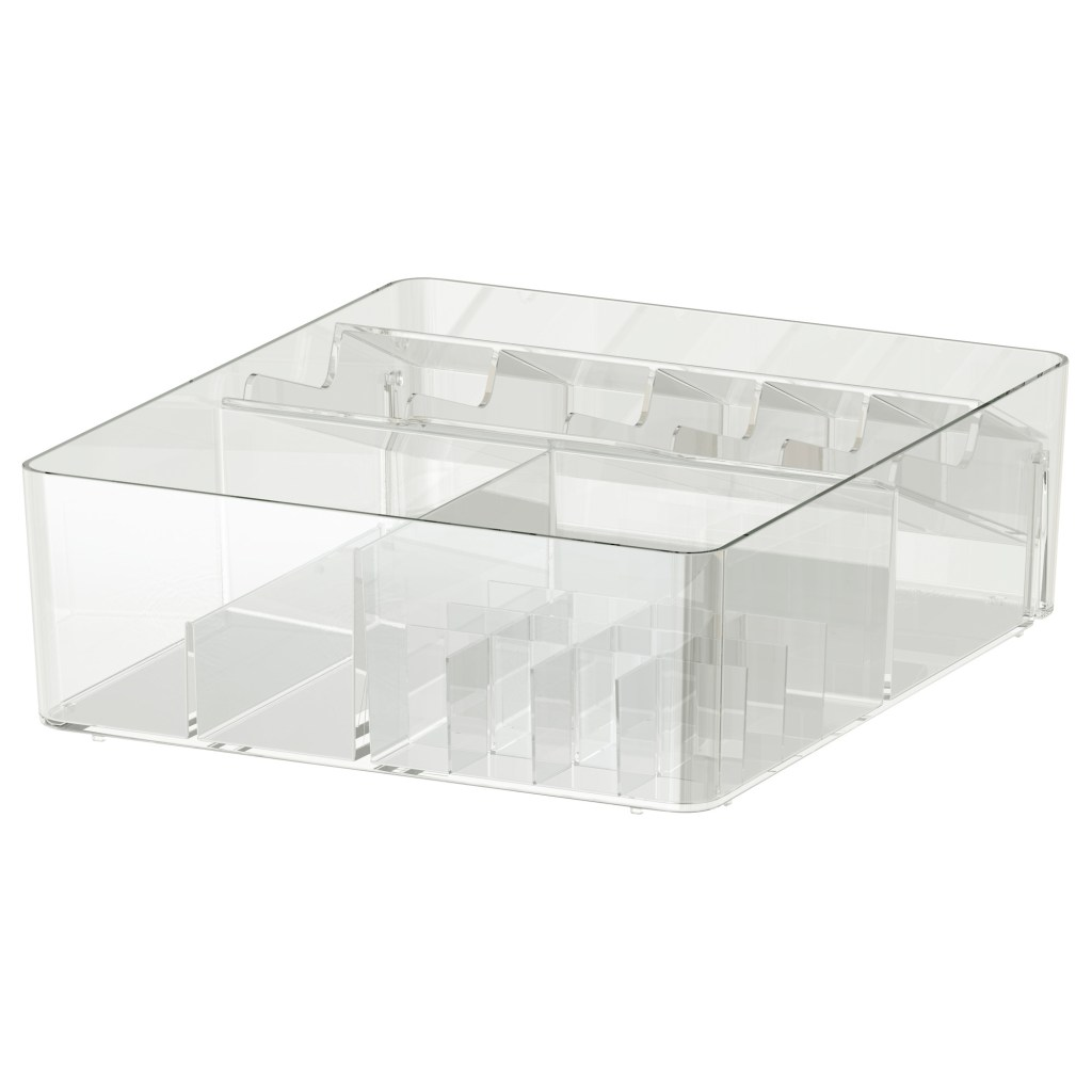 GODMORGON makeup organizer - Ikea - spring cleaning - The Gem Picker