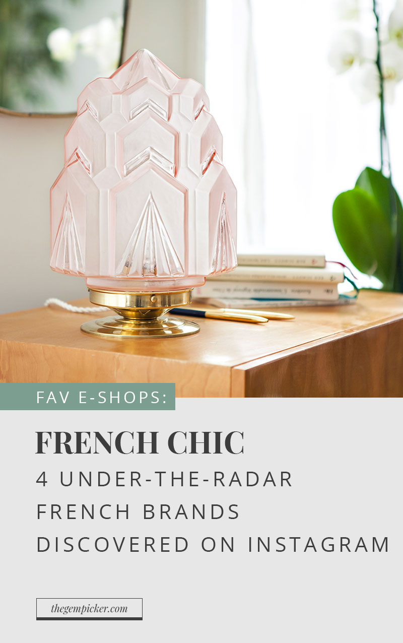 Check out these 4 under the radar french brands to add a little french chic to your life