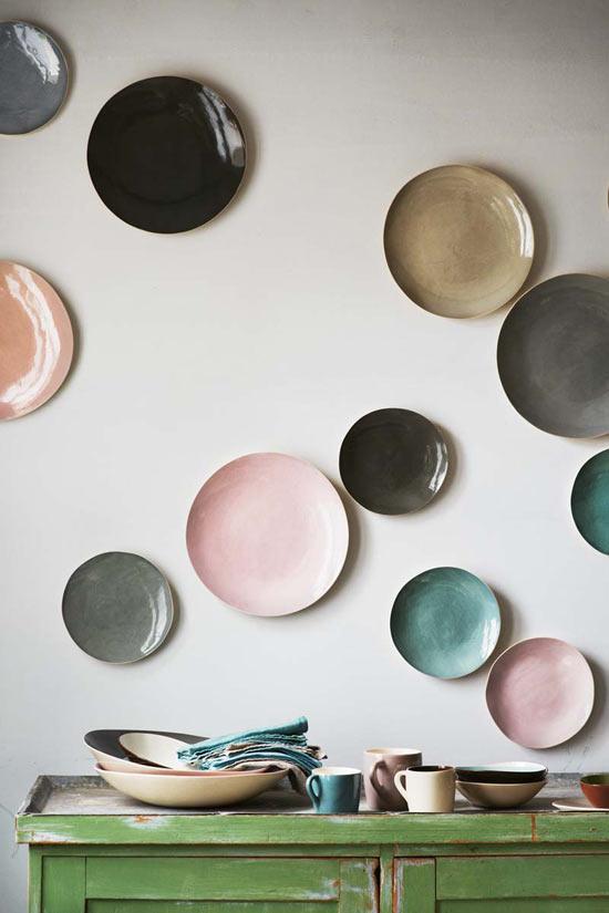 Kitchen rental remodel - hanging plates