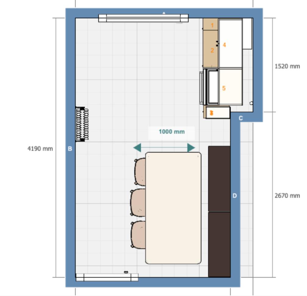 the ikea kitchen plan